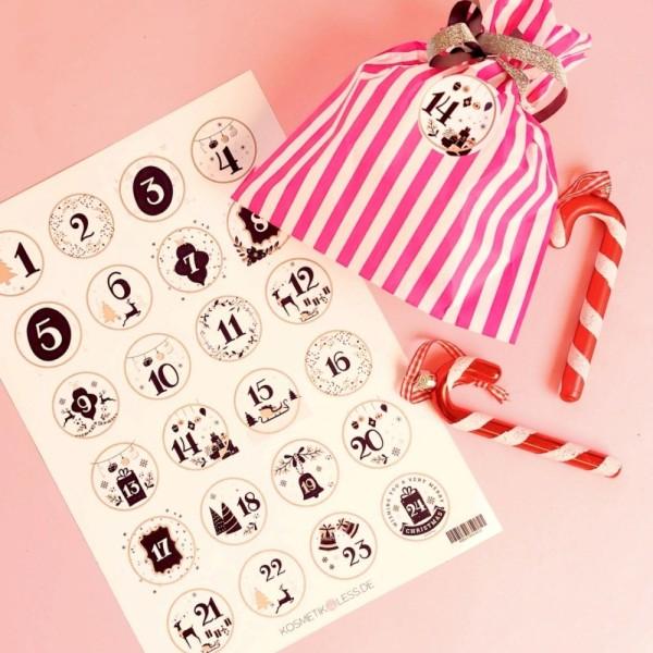 lenibeauty - DIY Adventskalenderset 2 - DIY Advent Calendar Set
