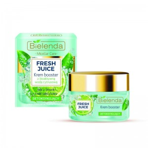 Bielenda - Fresh Juice Detoxifying Face Cream Booster With Bioactive Citrus Water Lime