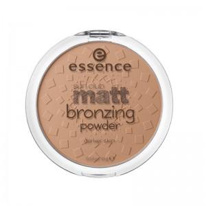 essence - Bronzer - sun club matt bronzing powder - 02 sunny