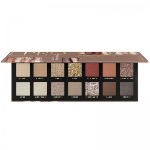 Catrice - Lidschattenpalette - Pro Neon Earth Slim Eyeshadow Palette 010 - Elements Of Power