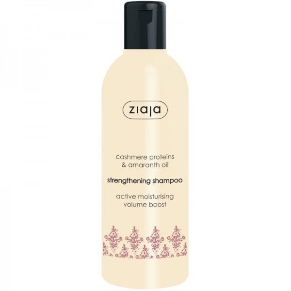 Ziaja - Haarshampoo - Cashmere Proteins Strengthening Shampoo