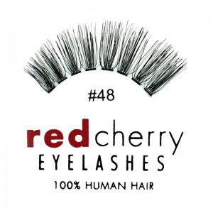 Red Cherry - Falsche Wimpern Nr. 48 Darla - Echthaar