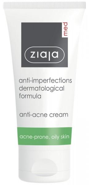 Ziaja Med - Antibakterielle Tagespflege bei Akne - Anti-Imperfections Formula Acne Balance Cream