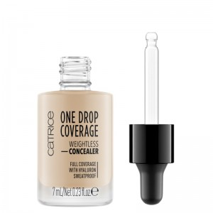 Catrice - Concealer - One Drop Coverage Weightless Concealer 010 - Light Beige
