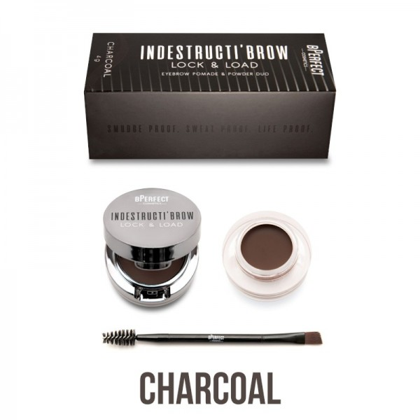 BPerfect - Augenbrauenpomade - indestructibrow Brow Lock & Load Eyebrow Pomade & Powder Duo - Charco