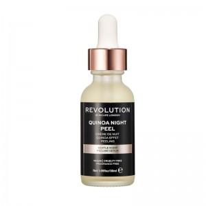 Revolution - Gesichtspeeling - Skincare Gentle Quinoa Night Peel Serum