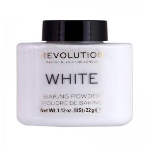 Revolution - Puder - Loose Baking Powder - White