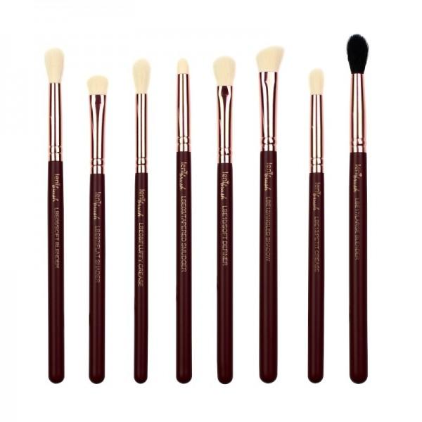lenibrush - Brush Set - Perfect Blend Set - Midnight Plum Edition