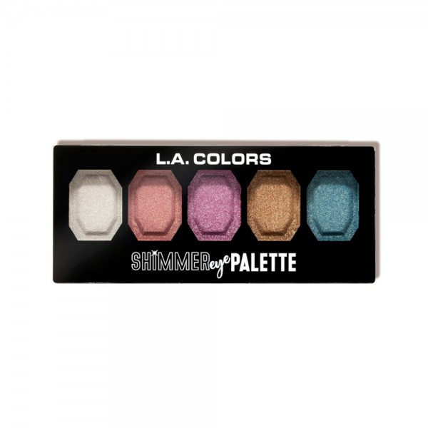 LA Colors - Eyeshadow Palette- Shimmer Eye Palette - Shine On
