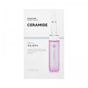 MISSHA - Maschera di cura - Mascure Moisture Barrier Solution Sheet Mask - Ceramide