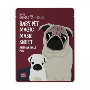 Holika Holika - Gesichtsmaske - Baby Pet Magic Mask Sheet - Pug