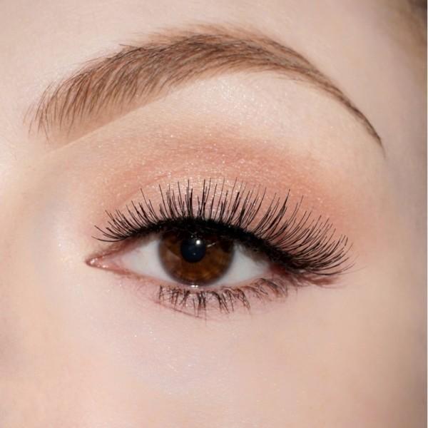 lenilash - False Eyelashes - Black - Nr.126 - Human Hair