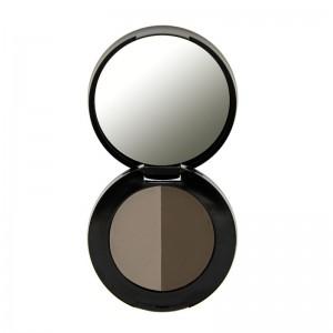 Freedom Makeup - Augenbrauen Puder - Duo Brow Powder - Medium Brown