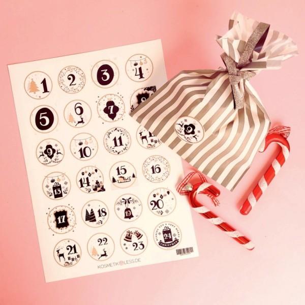 lenibeauty - DIY Adventskalenderset 3 - DIY Advent Calendar Set