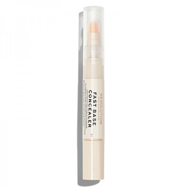 Makeup Revolution - Concealer - Fast Base Concealer - C1