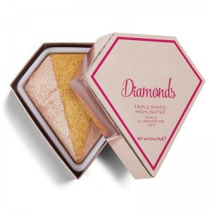 I Heart Revolution - Highlighter - Triple Baked Diamond Highlighter - Diamonds
