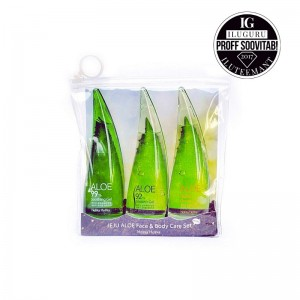 Holika Holika - Pflegeset - Jeju Aloe Face And Body Care Set