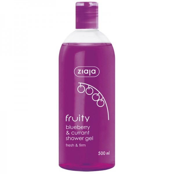 Ziaja - Hautpflege - Fruity Blueberry & Currant Shower Gel