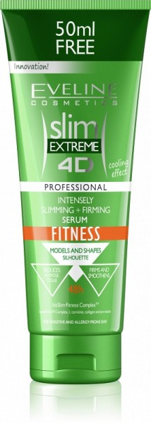 Eveline Cosmetics - Bodylotion - Slim Extreme 4D Intensely Slimming + Firming Serum Fitness