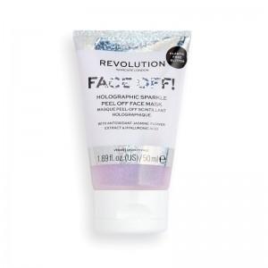 Revolution - Gesichtsmaske - Holographic Glitter Peel Off Mask