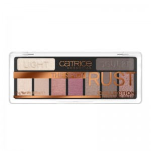 Catrice - The Spicy Rust Collection Eyeshadow Palette 010 - What Chai Sayin'?