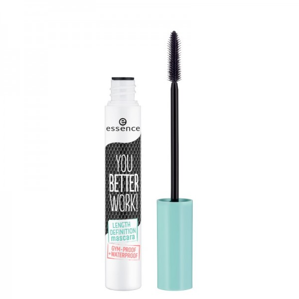 essence - you better work! length & definition mascara