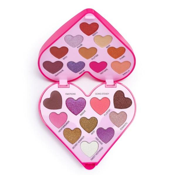 I Heart Revolution - Lidschattenpalette - Heartbeats Eyeshadow Palette