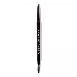 Revolution Pro - Augenbrauenstift - Microblading Precision Eyebrow Pencil - Chocolate
