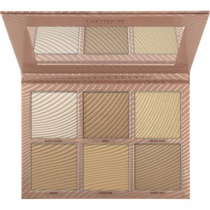 Catrice - Makeup Palette - Tansation - Desert Dunes 6 Colour Bronzing & Highlighting Palette