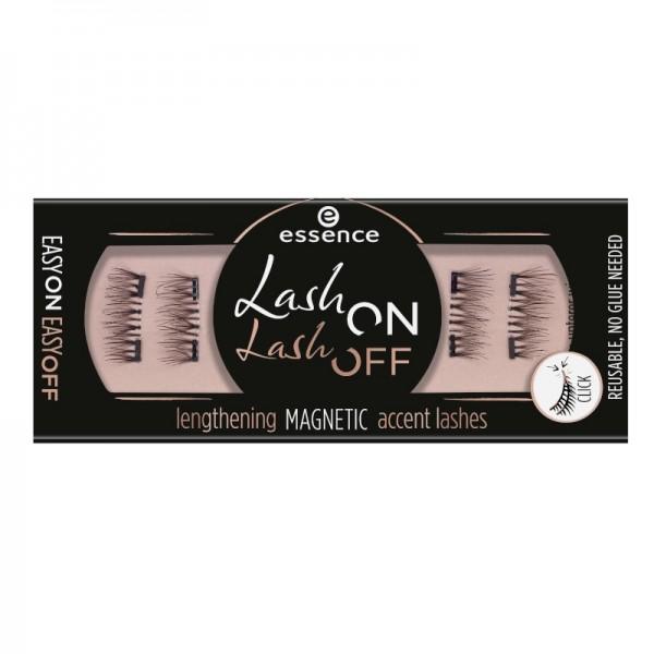 essence - Falsche Magnetwimpern - lash on lash off lengthening magnetic accent lashes 02
