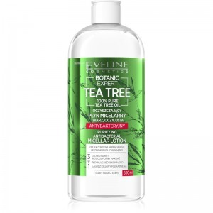 Eveline Cosmetics - Mizellenwasser - Botanic Expert Tea Tree Purifying Micellar Lotion - 500ml