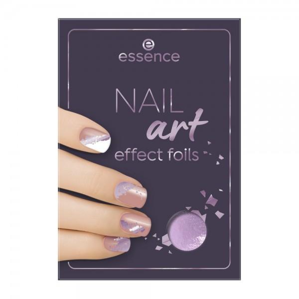essence - NAIL art effect foils - 02 Intergalilactic