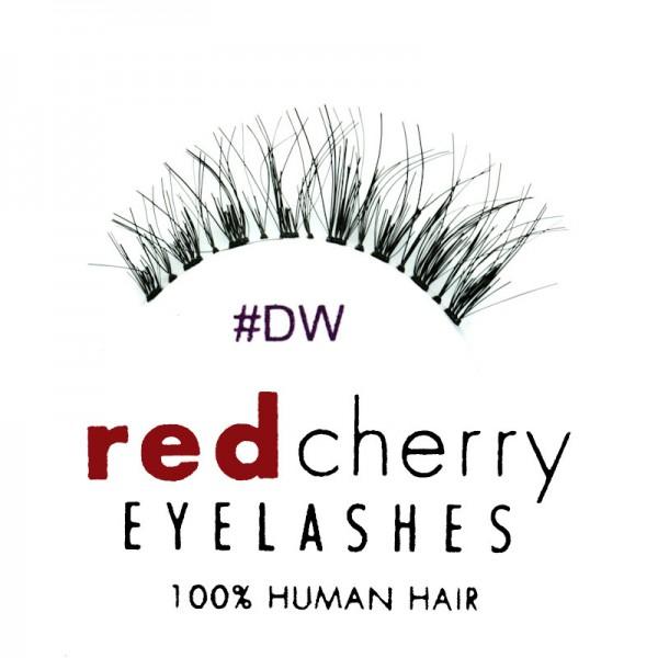 Red Cherry - False Eyelashes No. DW Demi Wispy - Human Hair