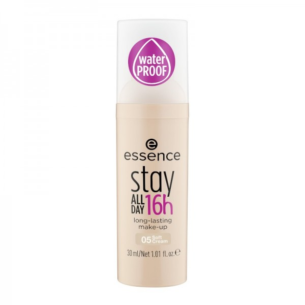 essence - Foundation - stay all day 16h long-lasting make-up - soft cream - 05