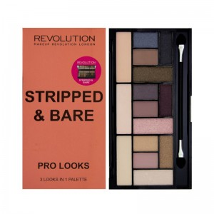 Makeup Revolution - Eyeshadow Palette - Pro Looks Palette - Stripped & Bare