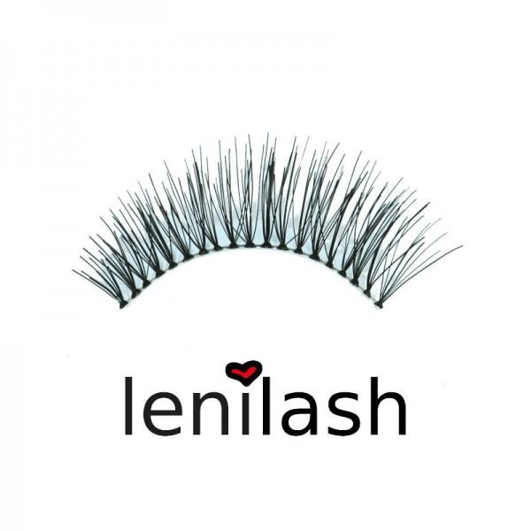 lenilash - False Eyelashes Black 111 - Human Hair
