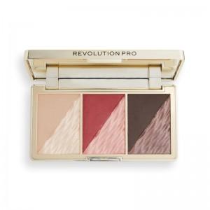 Revolution Pro - Gesichtspalette - Crystal Luxe Face Palette - Berry Flush