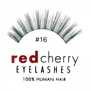 Red Cherry - Falsche Wimpern Nr. 16 Stella - Echthaar