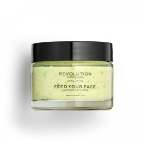 Revolution - Gesichtsmaske - Revolution Skincare x Jake Jamie - Avocado Face Mask