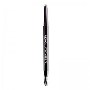 Revolution Pro - Augenbrauenstift - Microblading Precision Eyebrow Pencil - Medium Brown