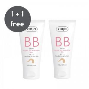 Ziaja - BB Cream for Normal, Dry & Sensitive Skin - Natural Tone
