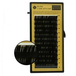 Blink - Schwarze Einzelwimpern - Mink-Lashes - B-Curl - Durchmesser 0,15mm