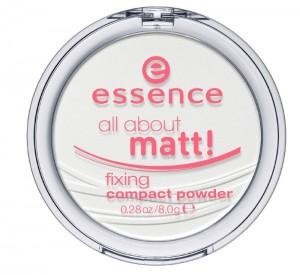 essence - Puder - all about matt! fixing compact powder
