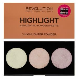 Makeup Revolution - Highlighter Palette - Highlight