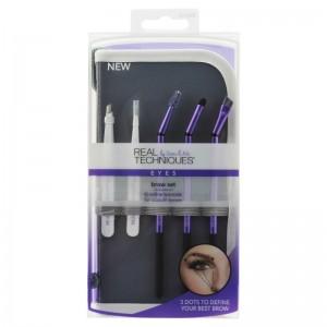 Real Techniques - Kosmetikpinsel Set - Brow Set