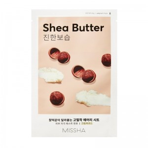 MISSHA - Gesichtsmaske - Airy Fit Sheet Mask - Shea Butter