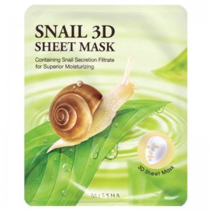 Missha - Snail 3D Sheet Mask