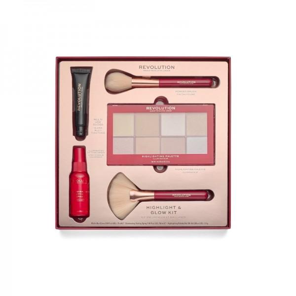 Revolution - Geschenkset - Highlight & Glow Kit