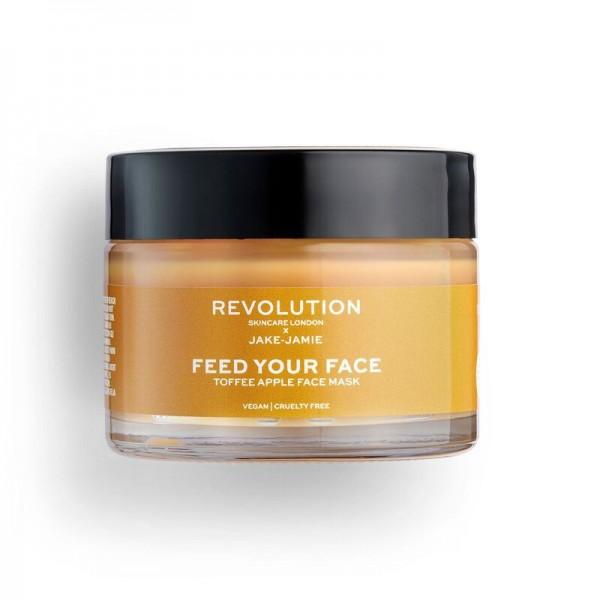 Revolution - Gesichtsmaske - Revolution Skincare x Jake Jamie - Toffee Apple Face Mask