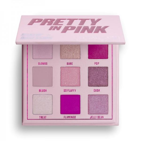Makeup Obsession - Lidschattenpalette - Pretty In Pink Shadow Palette - Mini
